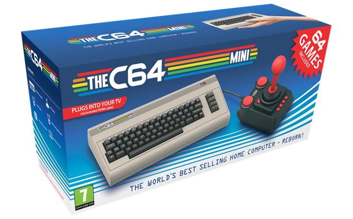 """ตามกระแส! คอมพิวเตอร์ย้อนยุค """"Commodore 64"""" ออกรุ่นมินิ"""