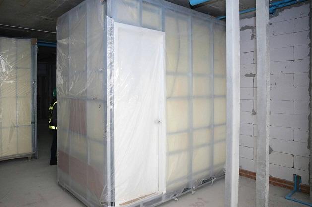 ห้องน้ำสำเร็จรูปที่ เอพี นำมาติดตั้งในโครงการคอนโดมิเนียม