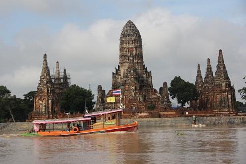 สถานการณ์น้ำเมืองกรุงเก่า- อช.เอราวัณ จ.กาญจนบุรี ยังน่าเป็นห่วง