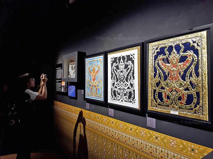 ศิลปะการฉลุผ้าทองย่น
