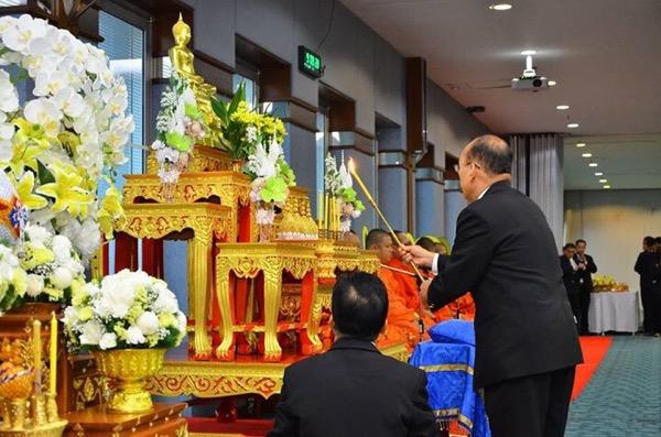 ศาลปกครองจัดพิธีบำเพ็ญกุศลเพื่อถวายพระราชกุศลในหลวง ร.๙ พร้อมสานต่อปณิธาน