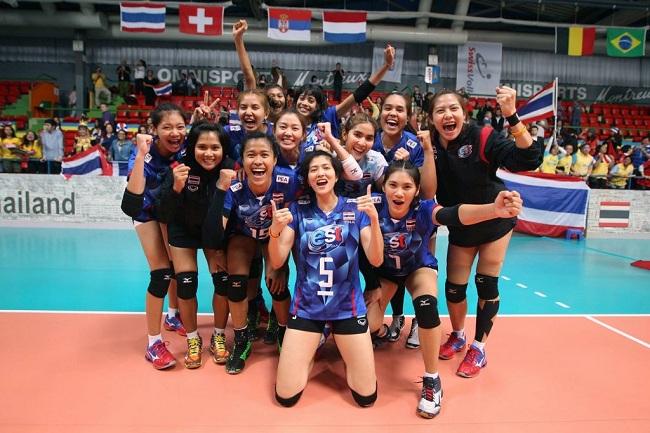 """""""เอฟไอวีบี"""" ไว้ใจไทย อาจได้จัดศึกลูกยางรายการใหญ่ปีหน้า พ่วง U17 ชิงแชมป์เอเชีย"""