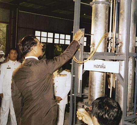 การกลั่นน้ำมันปาล์มเพื่อใช้กับเครื่องยนต์