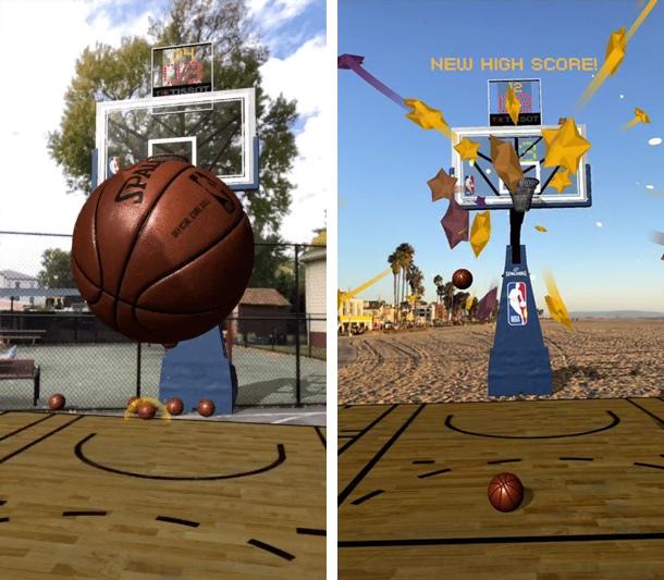 "NBA เปิดโหลดเกมมือถือ ""ชู้ตบาส"" ผสานเทคโนโลยี AR"