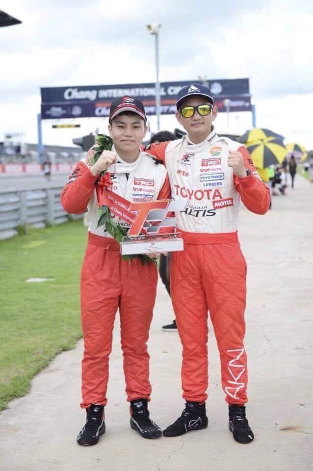 """""""โตโยต้า"""" ส่ง 2 นักขับไทย ลุย GAZOO Racing ที่ญี่ปุ่น"""