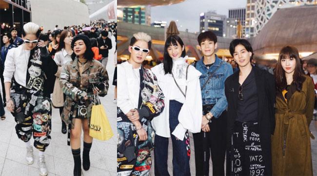"""เฟี้ยวสุดๆ """"กอล์ฟ  พิชญะ"""" นำก๊วนดาราไทยร่วมงาน Seoul Fashion Week"""