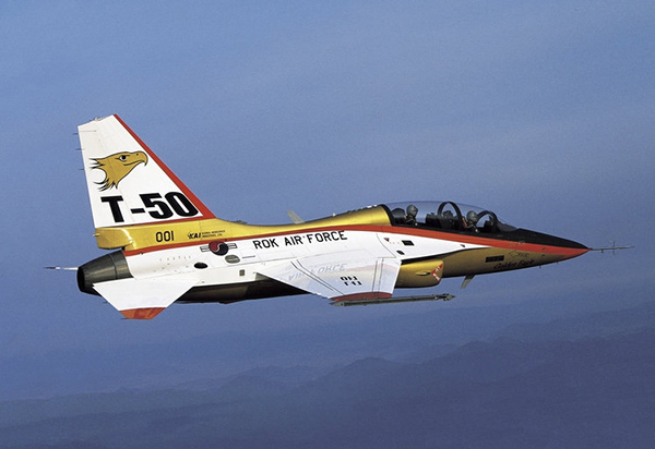 <br><FONT color=#00003>T-50 กองทัพอากาศเกาหลี ปัจจุบันมีกว่า 70 ลำ ทั้งเครื่องบินฝึก และ เครื่องบินโจมตีขนาดเบา บริษัทผู้ผลิตเปิดเผยเดิอน ก.ย.ปีนี้ว่า ทัพฟ้ากำลังจะจัดซื้ออีก แต่ไม่ได้เปิดเผยจำนวน. </b>