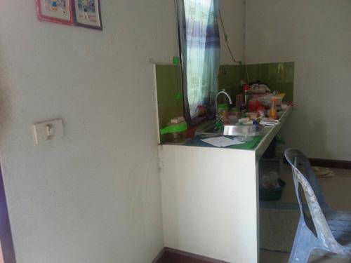 ทรัพย์สินภายในบ้านที่ถูกยกไปหลายรายการ