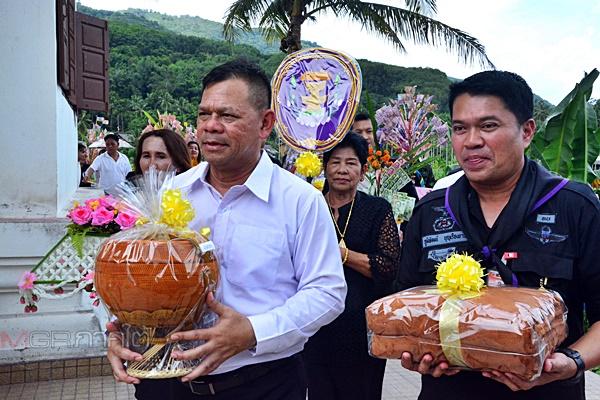 ศอ.บต.เดินสายทอดกฐินชายแดนใต้ สร้างขวัญกำลังใจพระและชาวไทยพุทธ