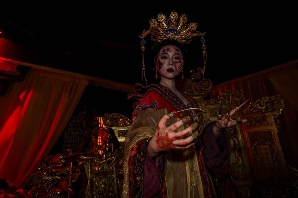 ผีจักรพรรดินีจีน จากห้อง Terrorcotta