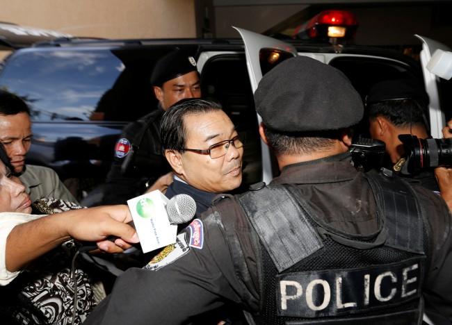 วุฒิสมาชิกฝ่ายค้านกัมพูชาได้รับพระราชทานอภัยโทษ