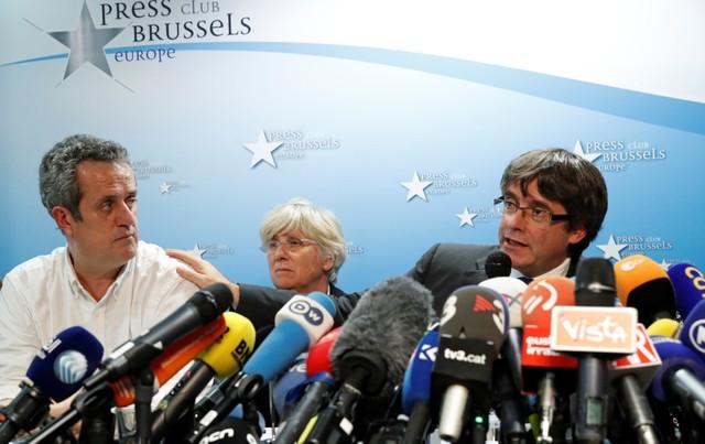 อดีตผู้นำกาตาลุญญาแจงไม่ได้ขอลี้ภัยในเบลเยียม แต่เผ่นมาบรัสเซลส์'เพื่อความปลอดภัย'