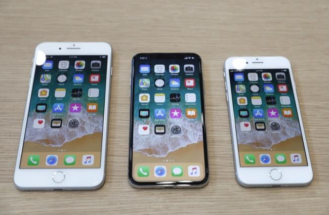 จากจอใหญ่ไปจอเล็ก iPhone 8 Plus ราคาเริ่ม 32,500 บาท, iPhone X ราคาเริ่มที่ 40,500 บาท และ iPhone 8 ราคาเริ่ม 28,500 บาท