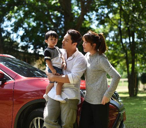 """@Apassin มุมน่ารัก หลังจอของนักแสดงหนุ่ม """"เอ พศิน"""" และครอบครัว"""