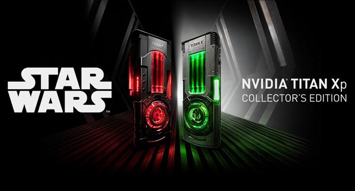 """แรง! Nvidia เผยโฉมการ์ดจอรุ่นพิเศษ """"สตาร์วอร์ส"""""""