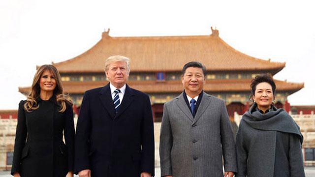 """เผยเบื้องหลัง """"ทรัมป์"""" ทวิตข้อความข้ามมหากำแพงไฟระหว่างเยือนจีน"""