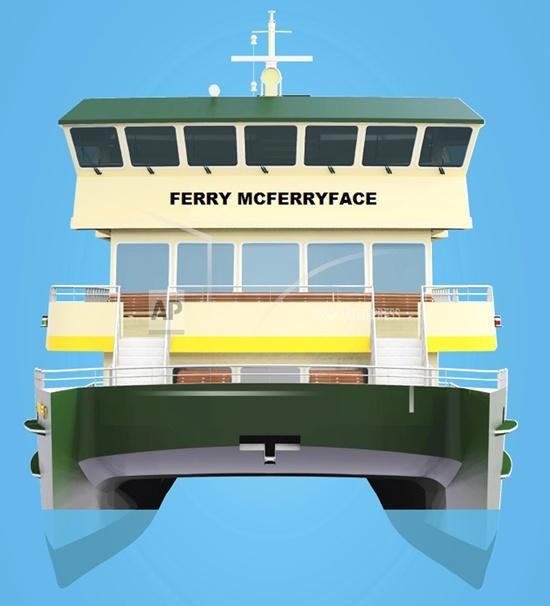 Ferry McFerryface chosen as name of new Sydney ferry