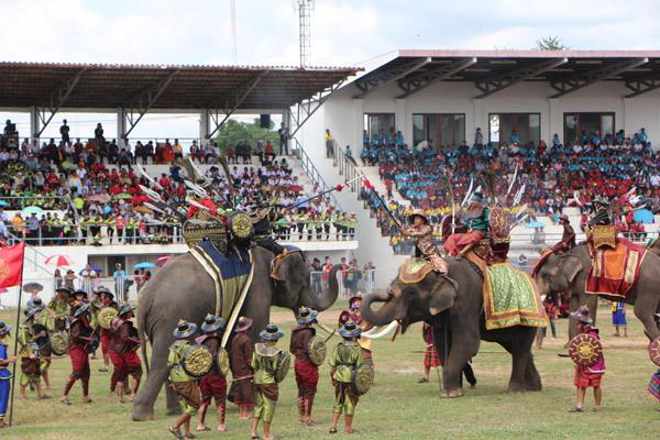 นับหมื่นแห่ชมซ้อมใหญ่แสดงช้างสุรินทร์สุดอลังการ พร้อมรับนักท่องเที่ยวจากทั่วโลก 18-19 พ.ย.นี้