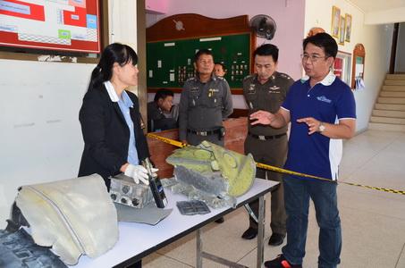 โล่งอก! เครือข่ายปรมาณูฯ ตรวจสารกัมมันตรังสีชิ้นส่วนจรวดส่งดาวเทียมตกใกล้ชายแดนไทย-ลาว พบปลอดภัย