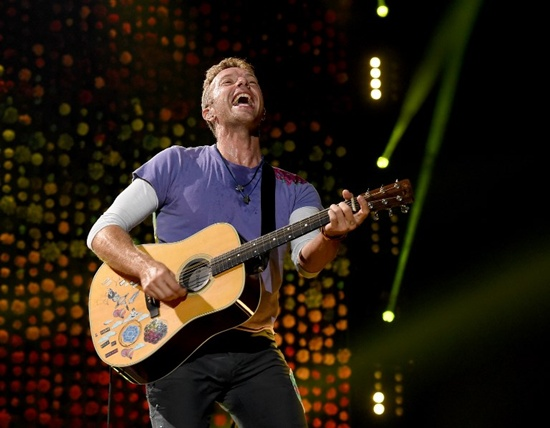 Coldplay tops $500 million on third richest tour ever