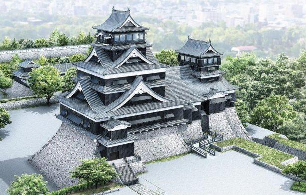 9. ปราสาทคุมะโมะโตะ  จังหวัดคุมะโมะโตะ