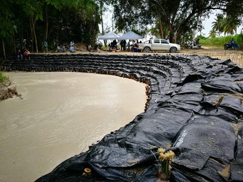 PTTGC น้อมนำพระราชดำริ ในหลวง ร.๙ แก้ปัญหาน้ำท่วมในชุมชน จ.ระยอง