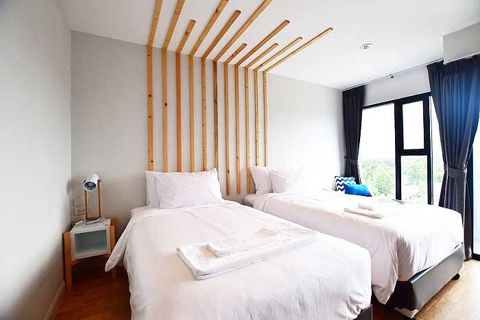 ห้องพักแบบแฮปปี้รูมเตียงคู่