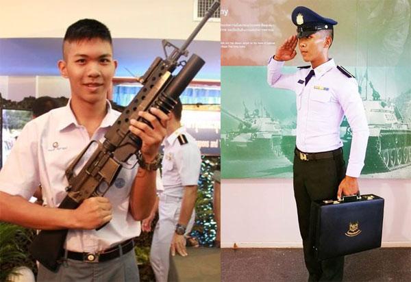 ความฝันอยากเป็นทหารในวัยเด็ก