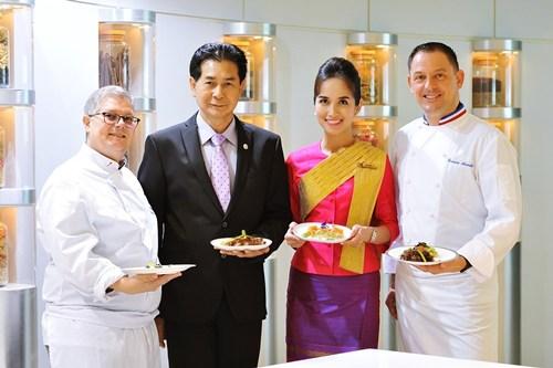 """""""การบินไทย"""" จัด Chef on Board บริการบนเครื่อง"""