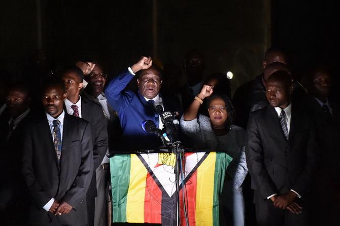 ซิมบับเวต้อนรับ'ว่าที่ประธานาธิบดี'คึกคัก เจ้าตัวกร้าวนำประเทศสู่ประชาธิปไตยเต็มใบ