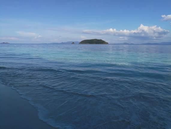 เกาะนาวโอพี ยามเย็น