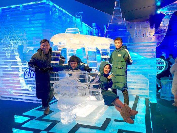 รถตุ๊กตุ๊กน้ำแข็ง