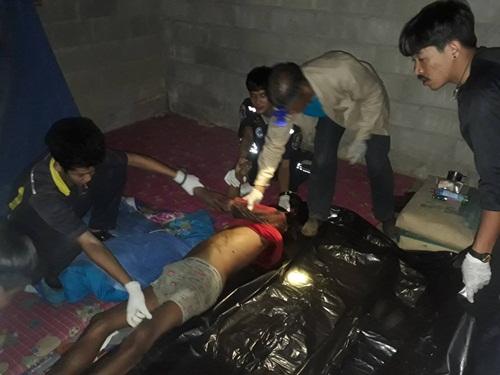 สุดโหด! ฆ่าฟันคอยกครัว 4 ศพ คนงานกรีดยางพาราบางสะพานน้อย คาดฝีมือชาวมอญ
