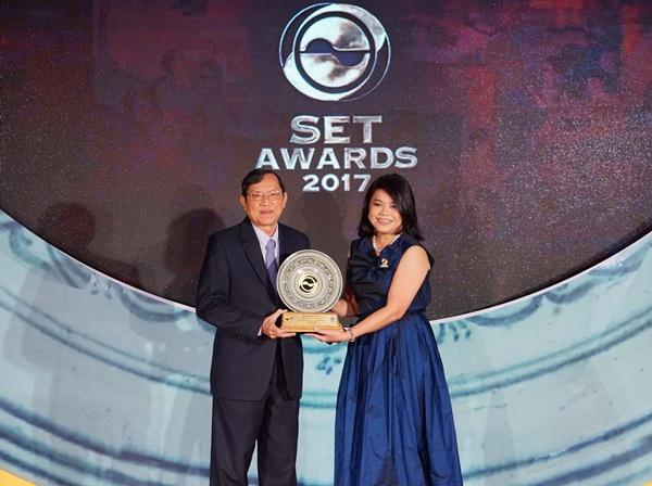 ไทยออยล์คว้ารางวัลนักลงทุนสัมพันธ์ยอดเยี่ยม จาก SET Awards 2017