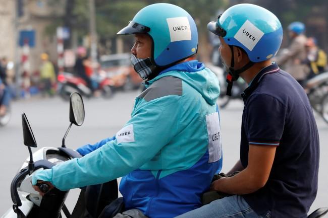 Uber จับมือบริษัทเทคโนโลยีชั้นนำในเวียดนามจ่ายค่าโดยสารผ่านแอพ