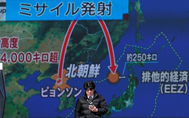 """""""ทรัมป์"""" กร้าวจะคว่ำบาตรเกาหลีเหนือครั้งใหญ่ ตอบโต้ทดสอบขีปนาวุธหนล่าสุด"""