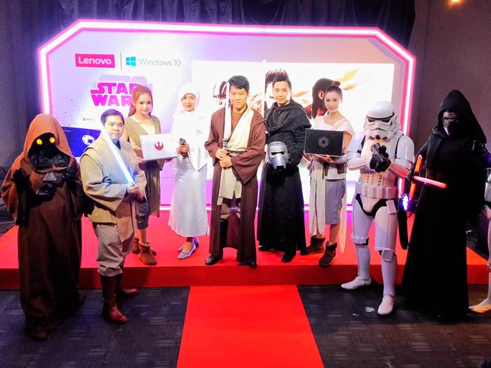 เลอโนโว เปิดตัวโน้ตบุ๊คต้อนรับหนัง Star Wars ภาคใหม่