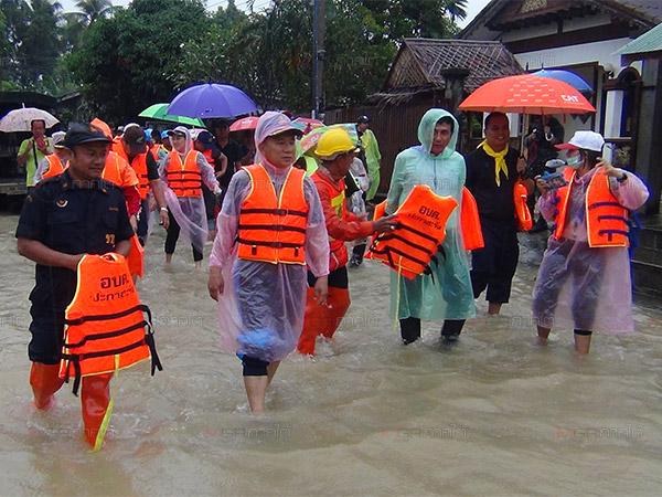 ผู้ว่าฯ ปัตตานีสรุปสถานการณ์น้ำท่วม เผยเสียชีวิตแล้ว 5 ราย