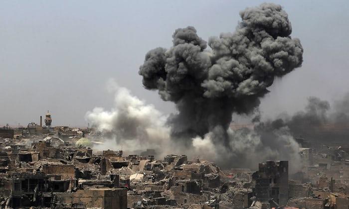 พันธมิตรปราบไอเอสบอมบ์พลเรือนในอิรักและซีเรียตายไป 800