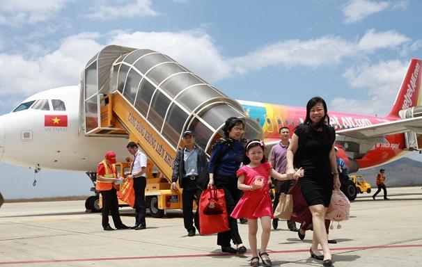 เวียตเจ็ทกรุ๊ปฉลองเส้นทางบินใหม่เชื่อมไทยสู่เวียดนาม
