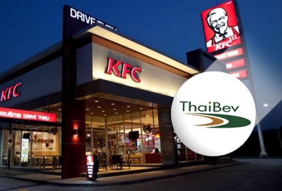 """""""ไทยเบฟ"""" ปิดดีล 1.1 หมื่นล้าน ดึง """"KFC"""" หนุนธุรกิจอาหาร"""