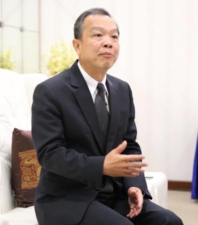 นพ.สุรเดช วลีอิทธิกุล เลขาธิการสำนักงานประกันสังคม