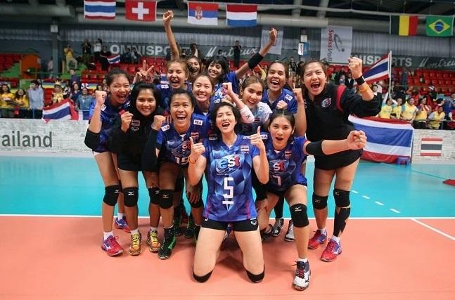 ทีมวอลเลย์บอลหญิงทีมชาติไทย (ภาพจากแฟ้ม)
