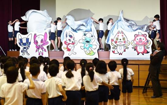 Tokyo 2020 unveil bug-eyed Olympic mascot hopefuls