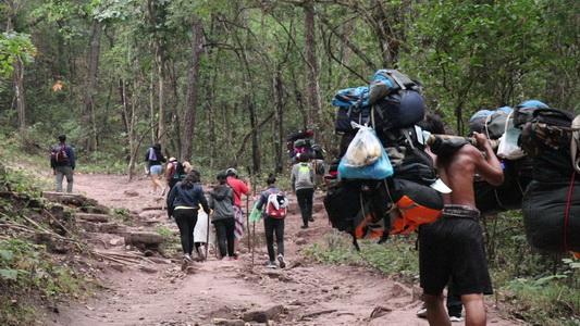คาดหยุดยาวแห่ขึ้นภูกระดึงกว่า 4,000 ชีวิต เตรียมลูกหาบ365คนคอยบริการ