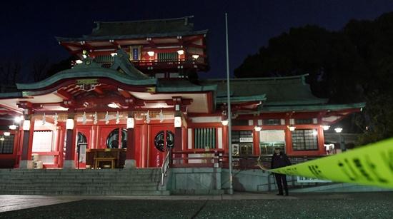 Three dead in samurai sword attack at Tokyo shrine