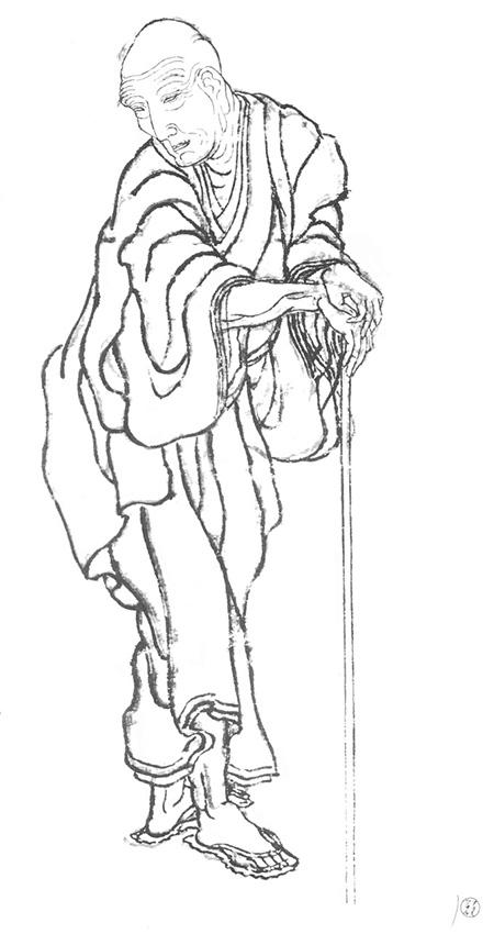 """ปรมาจารย์การ์ตูนญี่ปุ่น กับ ภาพร่าง """"โฮะกุไซมังงะ"""""""
