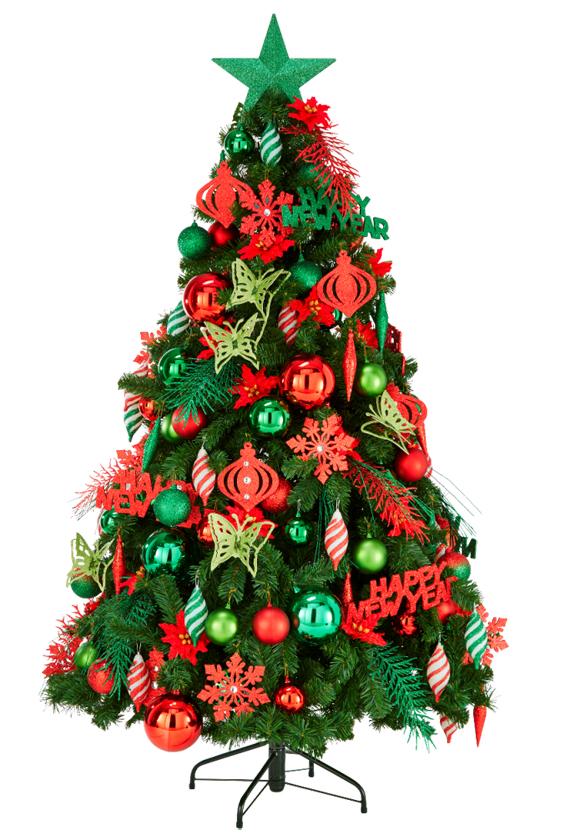 SIAM CHRISTMAS ต้นคริสต์มาส ขนาด 6 ฟุต สอบถามราคา ณ จุดขาย