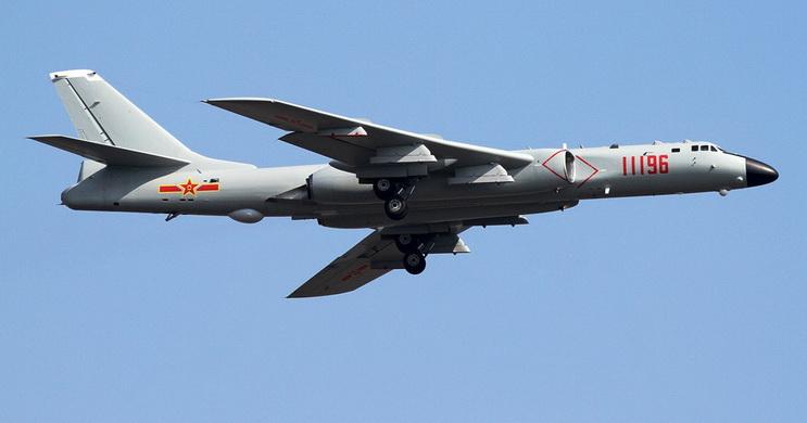 """ระทึก!! ทัพฟ้าจีนซ้อมบินลาดตระเวน """"ตีวงล้อมเกาะ"""" ใกล้น่านฟ้า """"ไต้หวัน"""""""