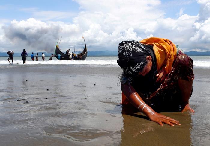 """""""แพทย์ไร้พรมแดน"""" ระบุแค่ 1 เดือน มีโรฮิงญาถูกฆ่า 6,700 คนในพม่า โดย 730 คนเป็นเด็กไม่ถึง 5 ขวบ"""